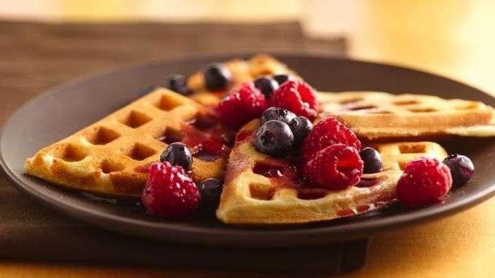 Receta de Waffles Americanos paso a paso