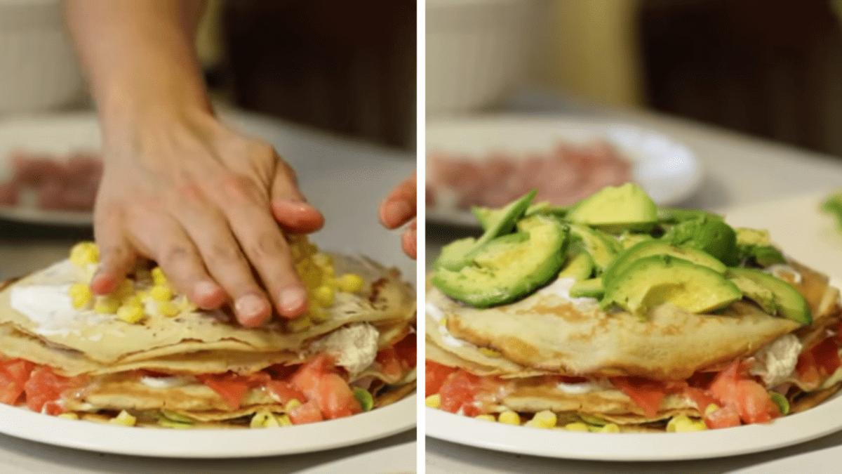 Torta de Panqueques Salada: Cómo Hacerla Fácilmente |