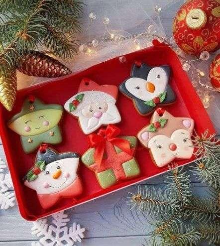 Decoraciones para galletas navideñas 2