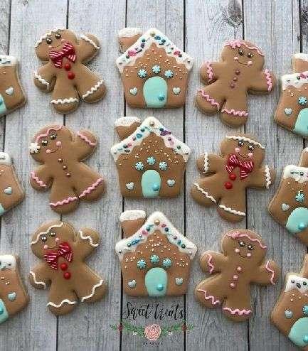 Decoraciones para galletas navideñas 1