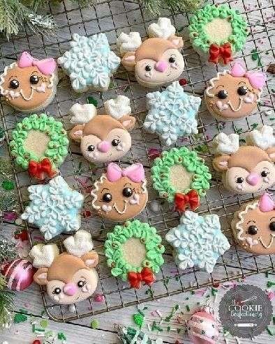 Decoraciones para galletas navideñas 3