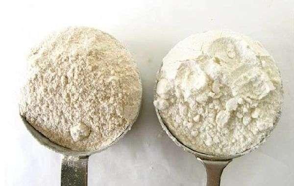 Diferencia entre harina de repostería y harina de fuerza